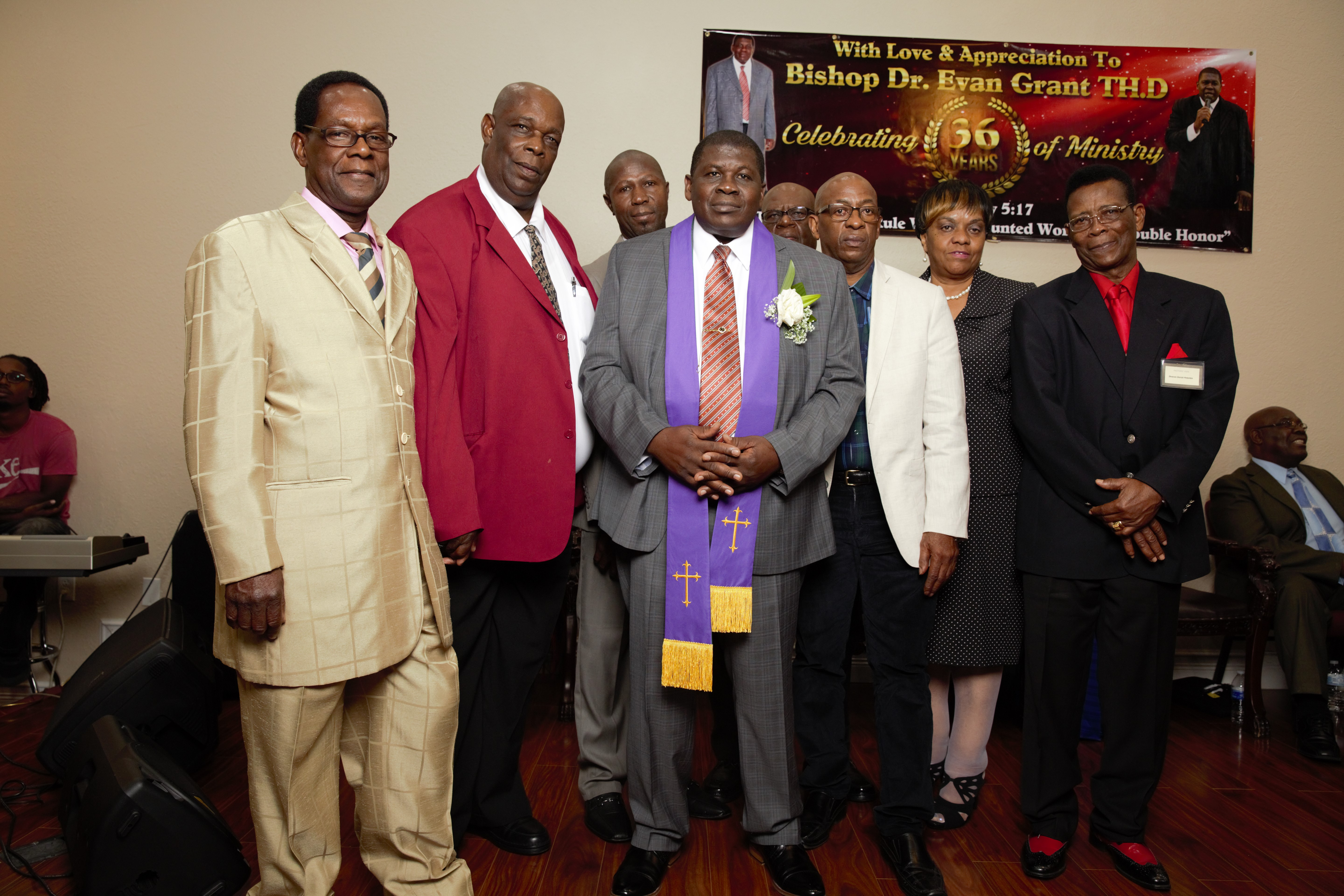 Bishop and Deacons/Deaconess